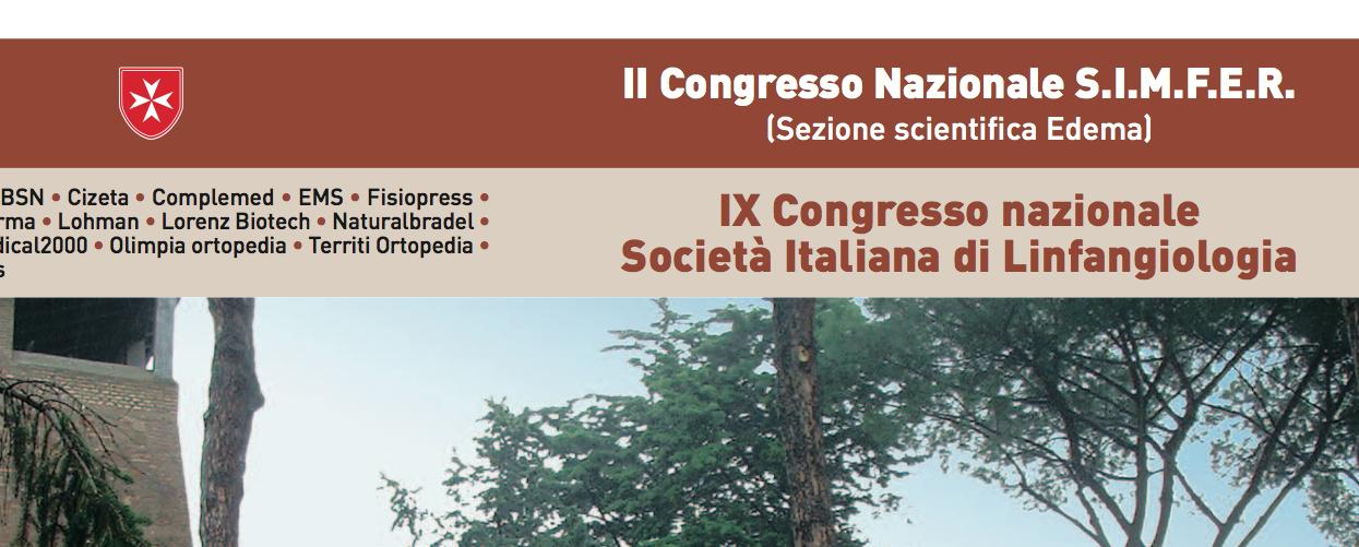 II Congresso Nazionale Società Italiana di Linfoangiologia