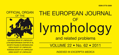 THE STUDY OF THE COMPOSITION OF THE LYMPH THROUGH ANALYSIS OF SECONDARY LYMPHOCELE