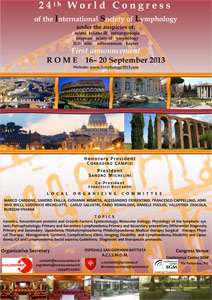 24th International Congress of Lymphology -2013