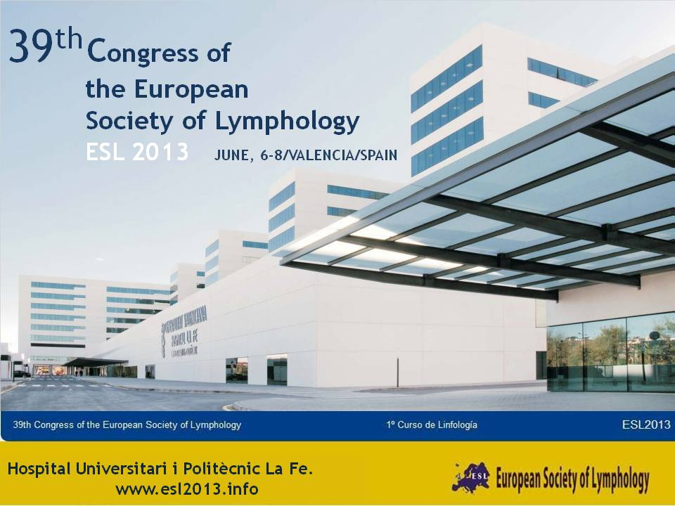 39th Congress of the European Society of Lymphology