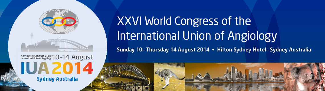 2014 XXVI World Congress of the International Union of Angiology (IUA)