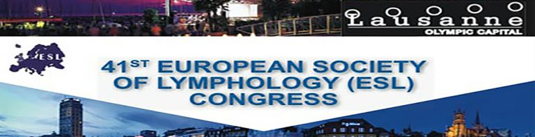 41ST EUROPEAN SOCIETY OF LYMPHOLOGY (ESL) CONGRESS